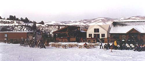 Gundy's Camp is a base mountain facility located next to the Bachelor Gulch Express ski lift on Beaver Creek Mountain, Colorado.