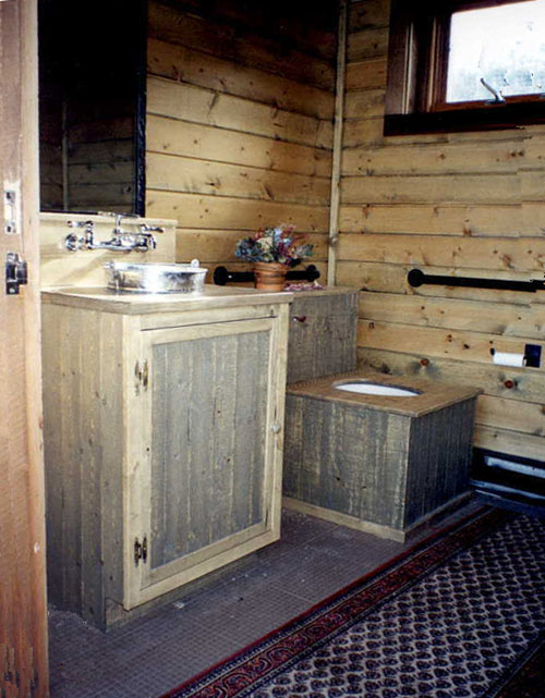 Anderson's Cabin is one of the five original bachelor's cabins in Bachelor Gulch. It has been restored and is used for private parties. For such use, two restrooms were added in an ancillary building.