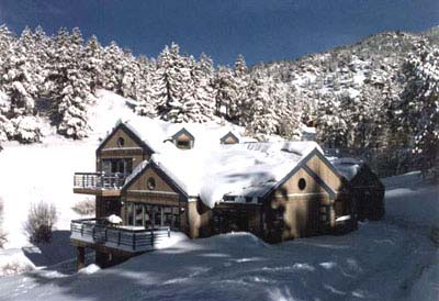 The Bonidy Residence is located in Evergreen, Colorado