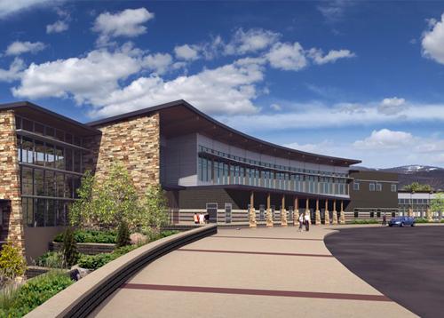 The new Battle Mountain High School